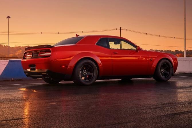 Dodge Challenger SRT Demon, el Muscle Car de producción ...