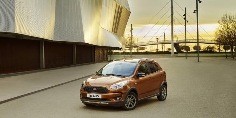 Ford presenta el nuevo ka con una versi n crossover for Gasolina barata tenerife